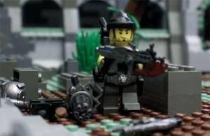 Lego Gears Of War Stop-motion Animation (video)