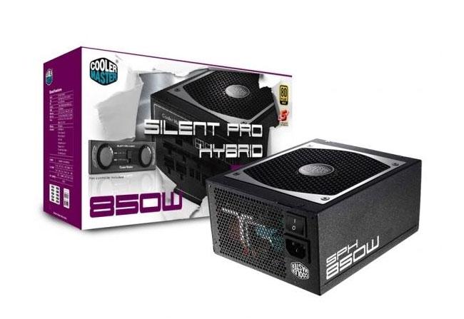 Cooler Master's Silent Pro Hybrid Fanless series