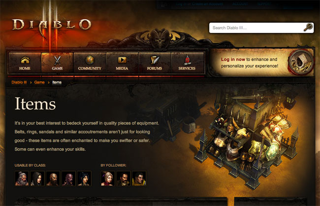 Diablo3 weapons and equipment