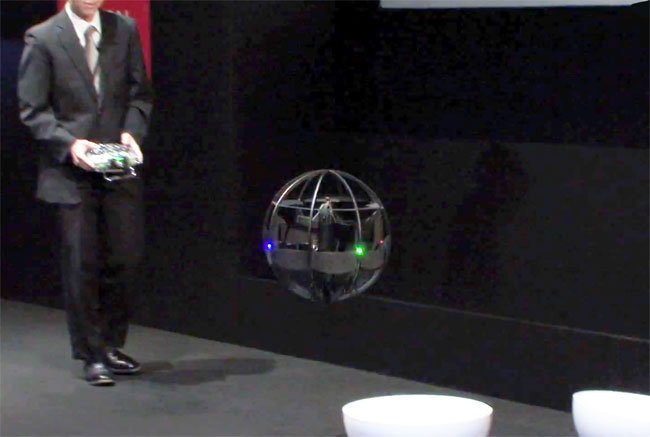 how does the helicopter fly with Worlds First Flying Ball Drone Unveiled By Japans Ministry Of Defence Video 25 10 2011 on B2 Bomber furthermore Viewtopic likewise Diffpilots moreover Helicopter Parenting as well Le X3 Un Helico A 472 Km H 3427392 1650684.