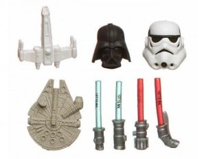 Detailed Star Wars Erasers Attract The Faithful