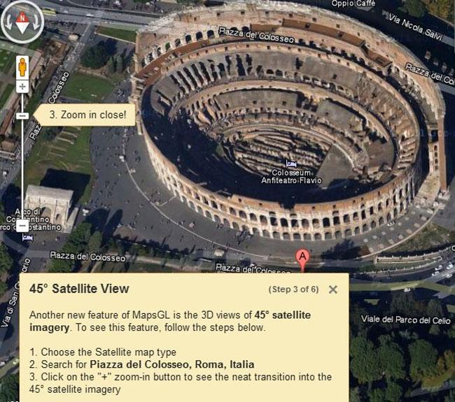 Google Maps WebGL