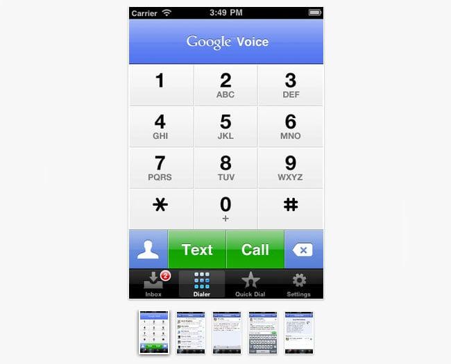 Google Voice App
