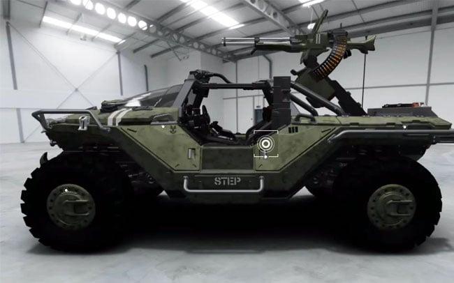 Halo Warthog In Forza 4