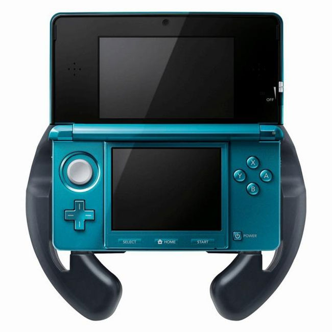 Hori 3DS Steering Wheel 1