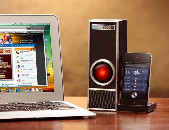 IRIS 9000 Turns Your IPhone 4S Into Hal 9000 (Video)