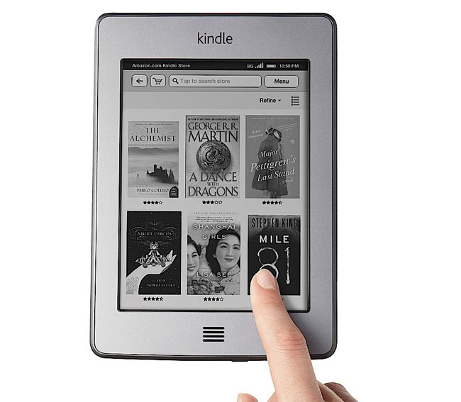 how do you down load kindle books to your ipad