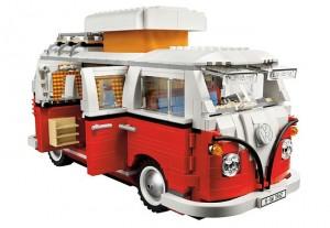 Lego Volkswagen T1 Camper Van Timelapse Construction Movie (video)