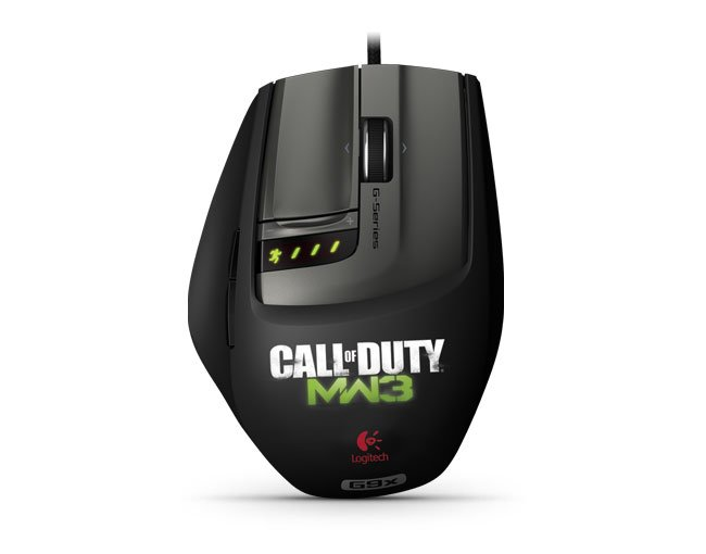 Logitech Call of Duty- Modern Warfare 3 Mouse