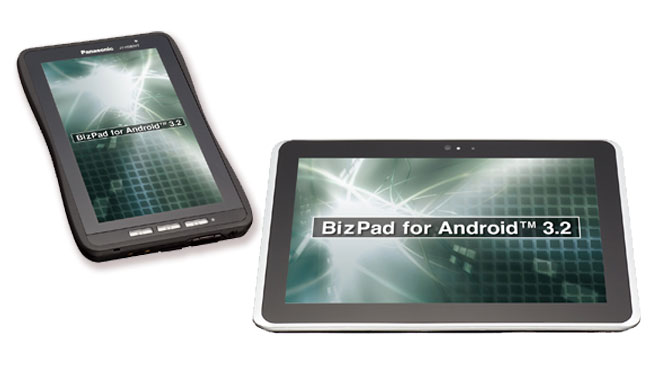 Panasonic Unveils BizPad Android Tablets