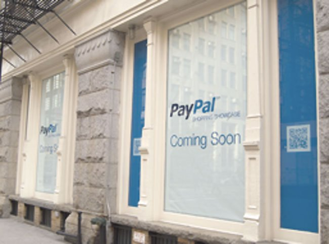 PayPal Pop-up Store