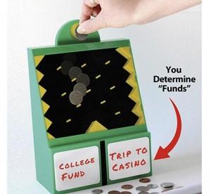 50/50 Savings Bank Puts Fresh Spin On Saving Dimes And Pennies