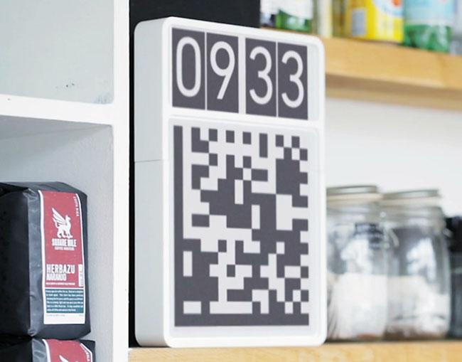 QR Code Clock