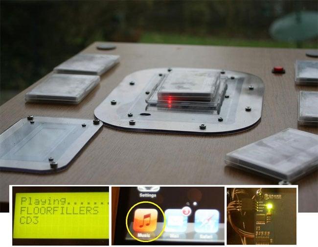 RFID Music Table