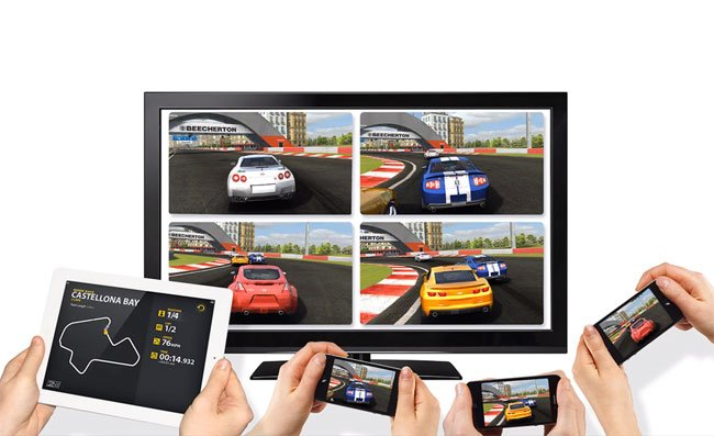Designing for multiple devices: Real Racing 2