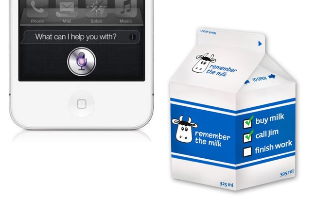 Siri Remember the Milk