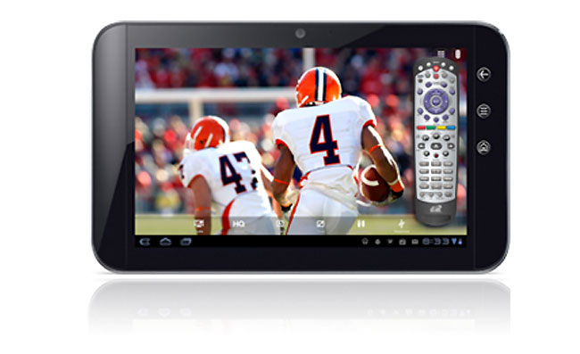 SlingPlayer Android 3 Tablets
