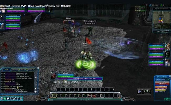 StarCraft MMO