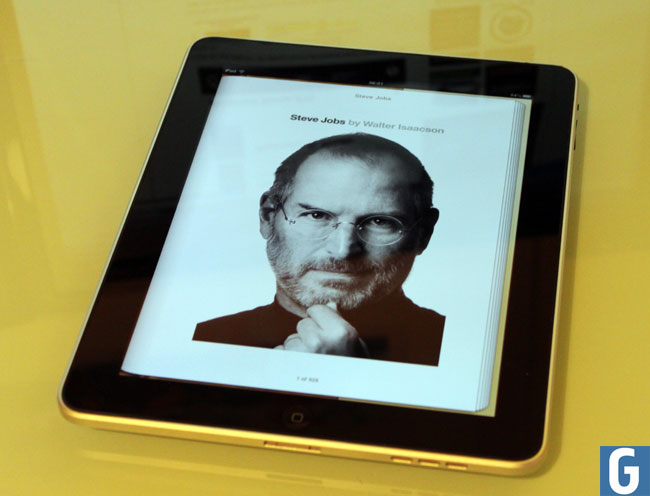 Steve Jobs Autobiography Lands On The iPad