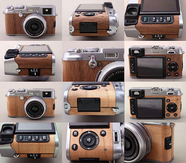 Wood Fujifilm X100
