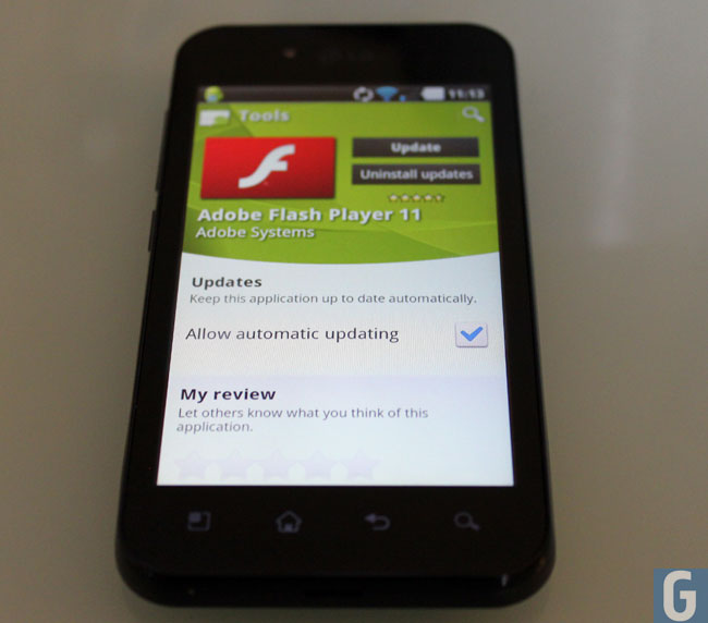 Adobe Flash 11 Android
