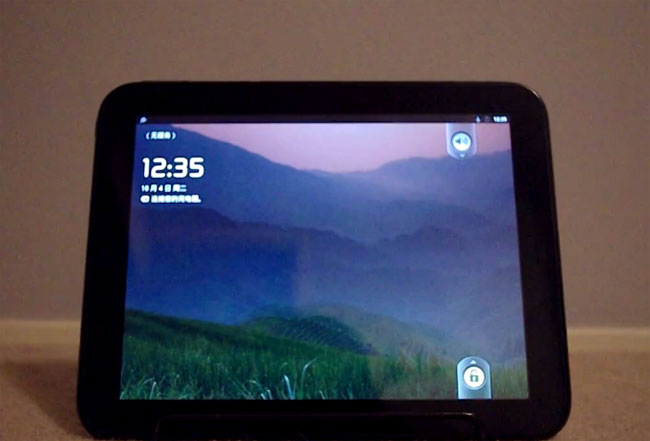 Androud HP TouchPad