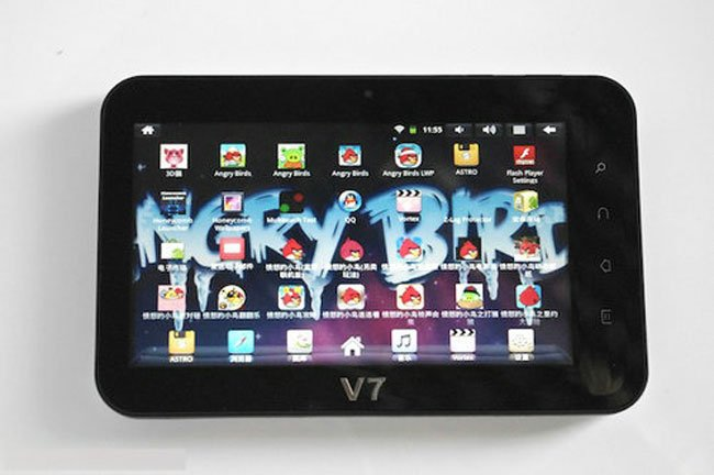 The Angry Birds Tablet, Wopad V7+