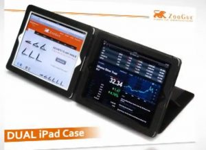 The Double iPad Case, Will Let You Use Two iPad's At Once (Video)