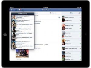 Facebook iPad App Announced