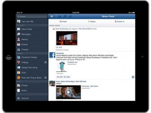 Facebook iPad App To Use Apple's In App Purchases, Not Facebook Credits
