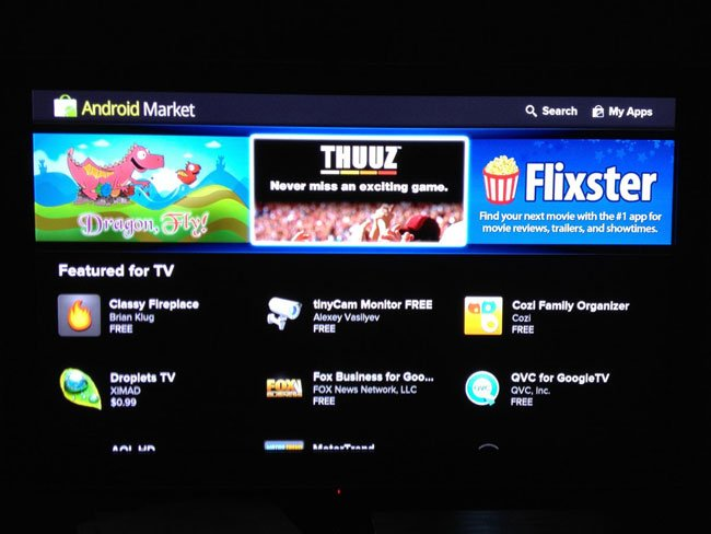 Google TV 2.0 More Details (Photos)