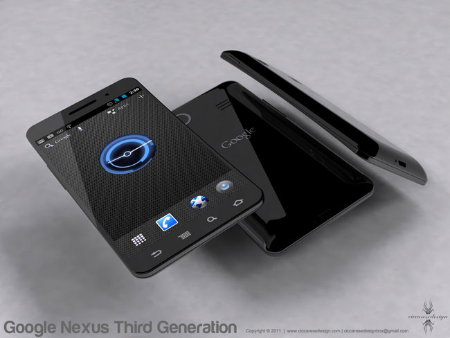 Google Nexus Prime Concept Design