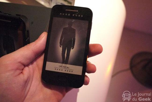 Hugo Boss Samsung Galaxy Ace Announced