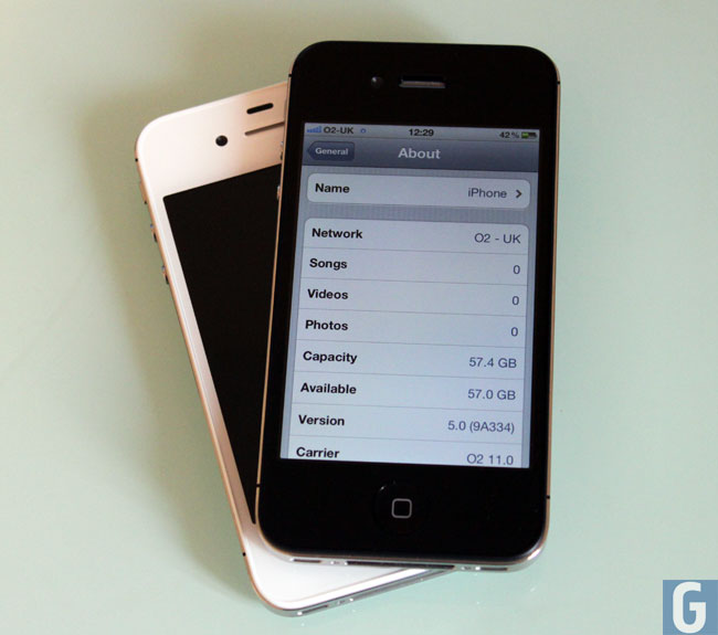 iPhone 4S hardware Specifications