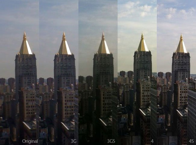 Apple's iPhone Cameras Compared (Photos)