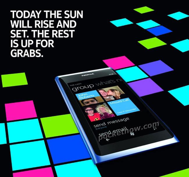 Nokia 800 Sun Windows Phone Smartphone