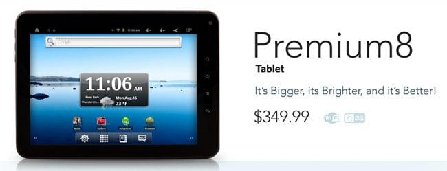 Premium 8 Tablet