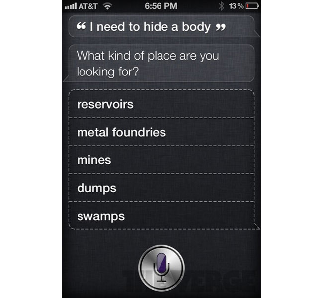 Apple's Siri Has A Sense Of Humor
