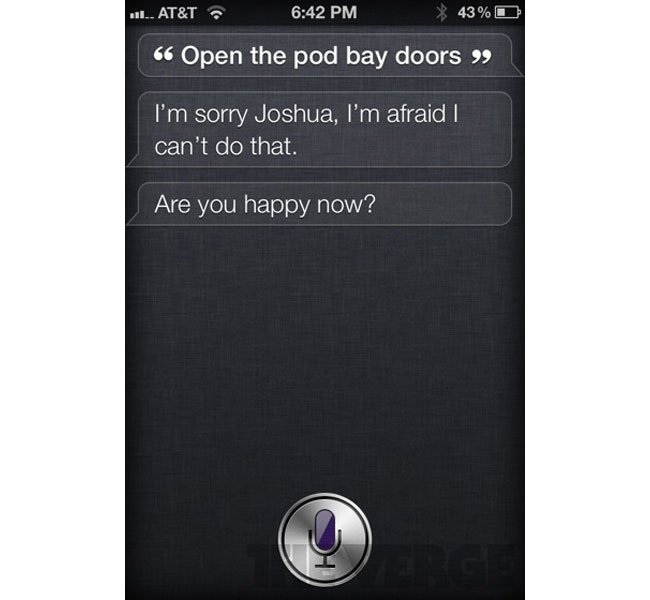 Apple's Siri Has A Sense Of Humor