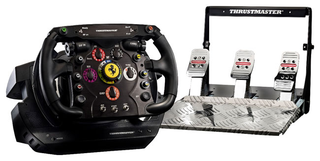 Thrustmaster T500 wheel