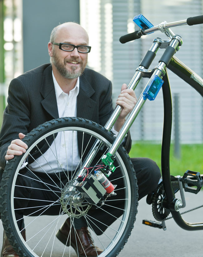 Scientists Develop Wireless Bike Braking System