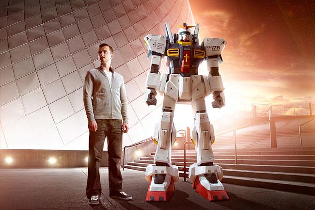 Awesome 7 Foot Papercraft Gundam