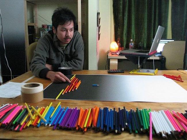920 Pencil Stop Motion Film