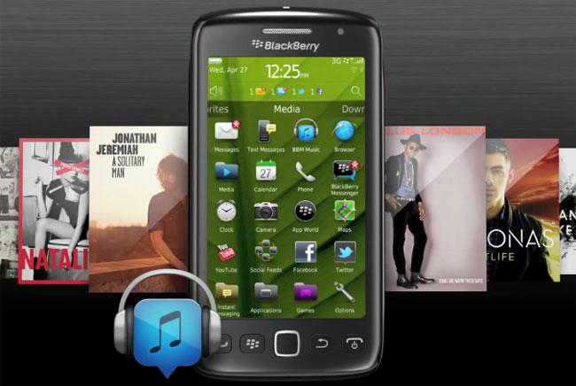 RIM Releases BBM Music App