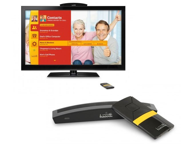 Biscotti TV Phone