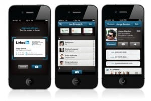 LinkedIn Launches CardMunch iOS App To Convert Business Cards Into Contacts