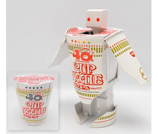 Cup Noodle Robot
