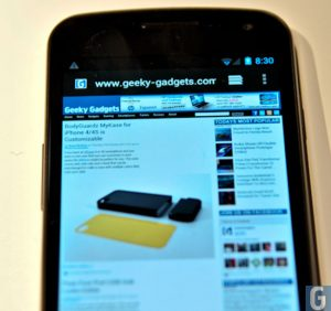 Adobe Flash Coming To Samsung Galaxy Nexus In December