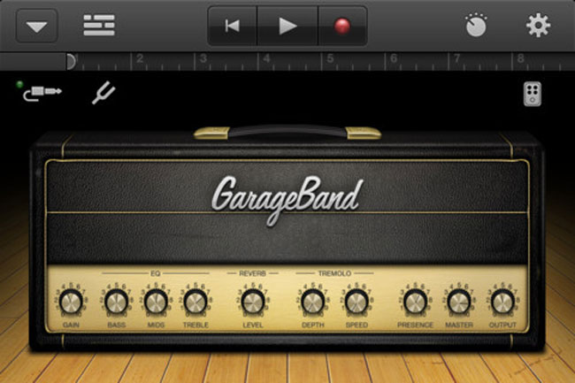 Garage Band iPhone