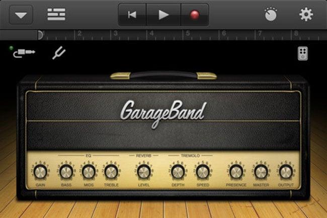 Garage Band iPhone